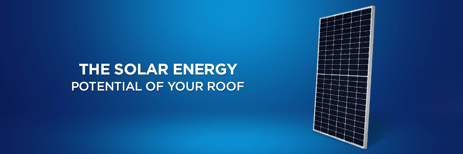The Solar Energy Potential of Your Roof!