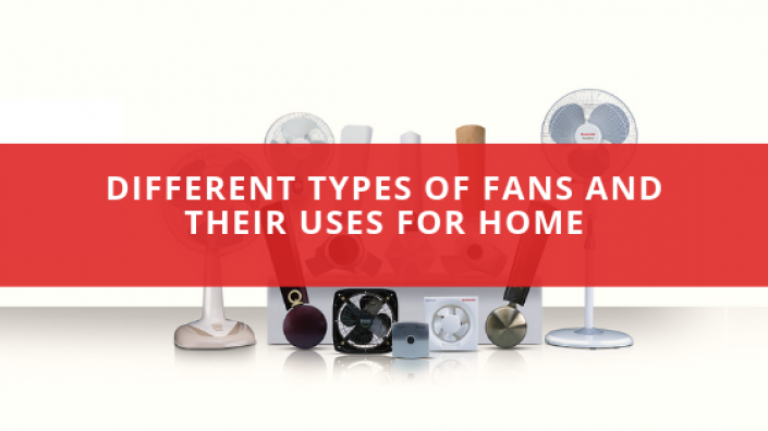 Different Types of Fans and Their Uses for Home
