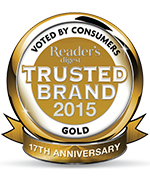 trusted brand awards & certification