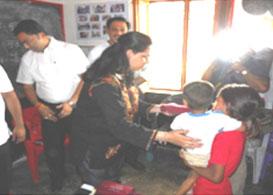 Anchor Shishu Aahar pariyojana Haridwar