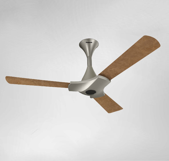 panasonic ceiling fan BLDC F-12XDA Brown