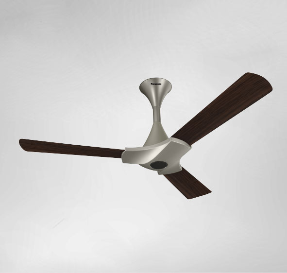 panasonic ceiling fan BLDC F-12XDA Brown
