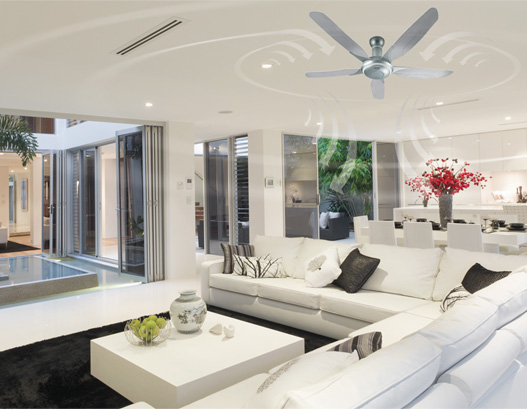 Panasonic LED Ceiling Fan Hassle-free-No Bulb Replacement