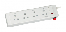 4  Socket Shutter with Single Switch