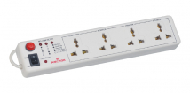 4 Universal Socket with Single Switch Spike Guard - Features, Specifications Online India - Panasonic Life Solutions India