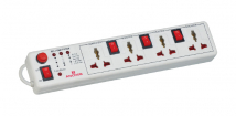 4 Universal Socket Shutter With Individual Switch Spike Guards - Features, Specifications Online India - Anchor by Panasonic