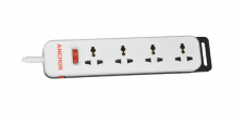 4 Socket with Individual Switch