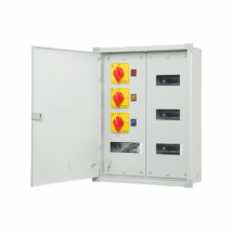 PHASE SELECTOR HORIZONTAL TPN DOUBLE DOOR DB(with Phase Selector, Indication light & Duly Wired)