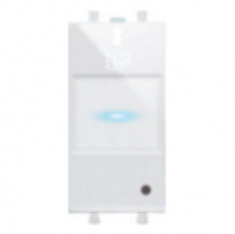 Domina plus(AVE) AVE Touch single - Channel Transmitter to Use  With AVE Touch Plate  Home Automation - Features, Specifications Online India - Panasonic Life Solutions India