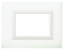 Domina plus(AVE) Glass clear white - BL cover plate Home Automation - Features, Specifications Online India - Panasonic Life Solutions India