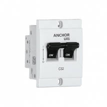 MINI MODULAR DP MCB, 'C' TYPE | Anchor Electricals