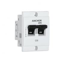 MINI MODULAR DP MCB, 'C' TYPE | Anchor Electricals