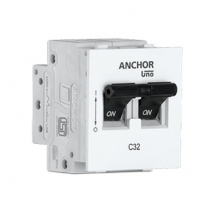 MINI MODULAR DP MCB C TYPE | Anchor Electricals