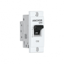 MINI MODULAR SP MCB, 'C' TYPE | Anchor Electricals