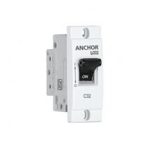 MINI MODULAR SP MCB, 'C' TYPE | Anchor Electricals