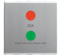 Roma 20A, Motor Starter, 2M Features, Specifications - Switches Online India - Panasonic Life Solutions India