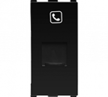 Roma RJ11, Tel Jack, Single with Shutter, 1M - Features, Specifications - Support Module Online India - Anchor by Panasonic
