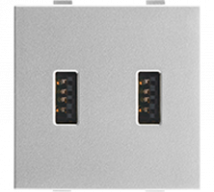 Roma USB Charger, Dual port, 2.1A, 5V, 2M Features, Specifications - Support Module Online India - Panasonic Life Solutions India
