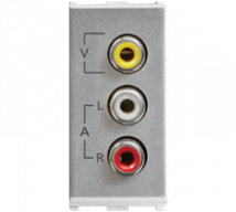 Roma Audio Video Socket, 1M - Features, Specifications - Support Module Online India - Anchor by Panasonic