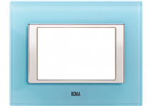 Roma Aqua Blue - Features, Specifications - Plates Online India - Anchor by Panasonic