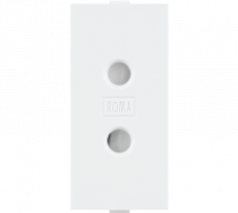 Roma Roma, 6A, 2 Pin Socket Round - Features, Specifications - Sockets Online India - Anchor by Panasonic