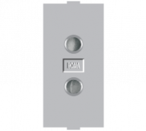 Roma Silver Roma Silver, 6A, 2 Pin Socket Round - Features, Specifications - Sockets Online India - Anchor by Panasonic