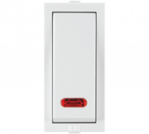 Roma Roma White,  10AX, 1 Way  Switch with Neon - Features, Specifications - ROMA CLASSIC SWITCHES Online India - Anchor by Panasonic