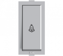 Roma Silver Roma Silver, 10A, Bell Push Switch Features, Specifications - ROMA CLASSIC SWITCHES Online India - Panasonic Life Solutions India