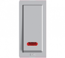 Roma Silver Roma Silver, 10AX, 1 Way Switch With Neon Features, Specifications - ROMA CLASSIC SWITCHES Online India - Panasonic Life Solutions India