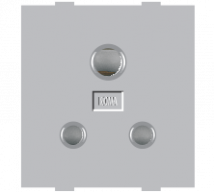 Roma Silver Roma Silver, 6A,  3 Pin Socket - Features, Specifications - Sockets Online India - Anchor by Panasonic