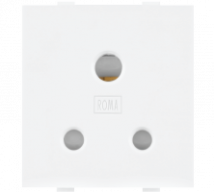 Roma Roma White, 6A, 3 Pin Socket with ISI - Features, Specifications - Sockets Online India - Anchor by Panasonic