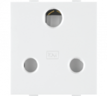 Roma  Roma White, 16 A, 3 Pin Socket(Heavy duty) - Features, Specifications - Sockets Online India - Anchor by Panasonic