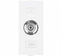 Roma Roma White, T.V Socket Outlet Single - Features, Specifications - Support Module Online India - Anchor by Panasonic