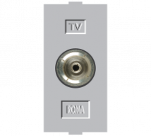 Roma Roma Silver, T.V Socket Outlet Single - Features, Specifications - Support Module Online India - Anchor by Panasonic