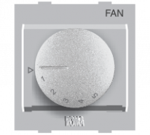 Roma Silver Roma Silver, Fan Step Regulator Dura EME 100W - Features, Specifications - Fan Regulators and Dimmers Online India - Anchor by Panasonic