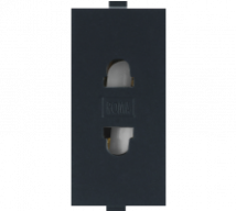 Roma Black Roma Black,  6A, URO 2 Pin Socket Features, Specifications - Sockets Online India - Panasonic Life Solutions India