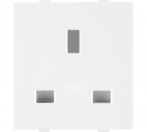 Roma Roma White, 13A, Flat Pin English Socket - Features, Specifications - Sockets Online India - Anchor by Panasonic