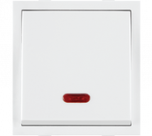 Roma Roma White Dura Switches, 20A, 1 Way Switch With Neon - Features, Specifications - ROMA CLASSIC SWITCHES Online India - Anchor by Panasonic