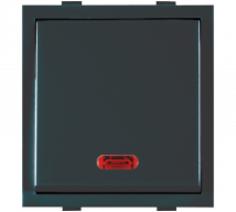 Roma Black Roma Black, 20A, 1 Way  Dura Switch With Neon - Features, Specifications - ROMA CLASSIC SWITCHES Online India - Anchor by Panasonic