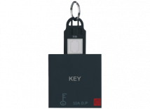 Roma Black Roma Black, 32A D.P Main Switch with Key Ring Tag 2 Module - Features, Specifications - Hospitality Range Online India - Anchor by Panasonic
