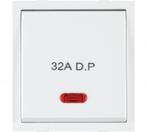 Roma Roma White, 32A, D.P 1 Way Switch With Neon (Heavy Duty Double Pole Main Switch) Features, Specifications - ROMA CLASSIC SWITCHES Online India - Panasonic Life Solutions India