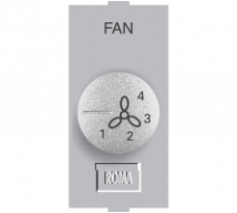 Roma Silver Roma Silver, Fan Step Regulator Tiny EME 100W - Features, Specifications - Fan Regulators and Dimmers Online India - Anchor by Panasonic