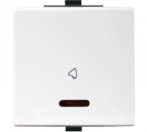 Roma  Roma Plus,10A, Bell Push Switch with LED indicator, 2M - Features, Specifications - Switches Online India - Anchor by Panasonic