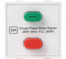 Roma Roma Plus, 20A Motor Starter Switch, 240v~50Hz - Features, Specifications - Switches Online India - Anchor by Panasonic