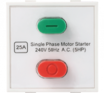 Roma Roma Plus, 25A  Motor Starter Switch  - Features, Specifications - Switches Online India - Anchor by Panasonic