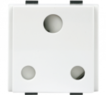 Roma Roma Plus, 16A, 3pin Round Socket, 2M - Features, Specifications - Sockets Online India - Anchor by Panasonic