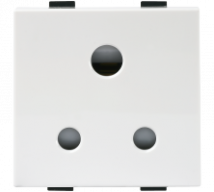 Roma Roma Plus, 6A, 3pin Round Socket, 2M - Features, Specifications - Sockets Online India - Anchor by Panasonic
