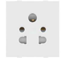 Roma Roma White, 10A, Multi Socket for Cell Phone Pin or 2Pin & 3 Pin - Features, Specifications - Sockets Online India - Anchor by Panasonic