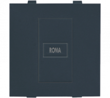Roma Black Roma Black, Blank Plate Dura - Features, Specifications - Support Module Online India - Anchor by Panasonic