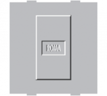 Roma Silver Roma Silver, Blank Plate Dura - Features, Specifications - Support Module Online India - Anchor by Panasonic